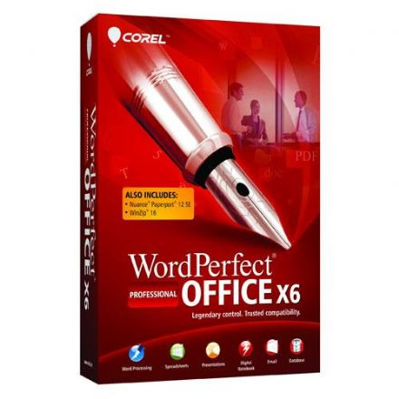 Corel WordPerfect Office X6 Professional *Upgrade